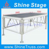 AluminiumMobile Assembly Stage, Lighting Portable Event Portable Stage mit 18mm Plywood