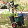 Trolley de jardim portátil com organizador de ferramentas e baldes (HT5462)