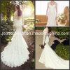 소매 인어 결혼 예복 V-Back 가득 차있는 레이스 신부 드레스 W15241
