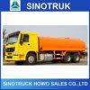 Carro de petrolero del aceite/combustible de Sinotruk 6X4 336HP 16cbm