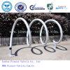 Cremalheira de aço espiral da bicicleta dos carrinhos do estacionamento do ciclo (GV do ISO/aprovado)