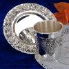 A prata chapeou o copo ajustado (CK22338B)