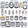 Sac en métal de Wholeale effectuant des accessoires, garnitures de sac, accessoires de sac