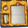 Flask Hip con Cappie (JJ-FK92-6oz (brillante) fijó)