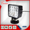 48W LED Work Light con Flush Mount