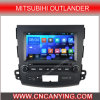 Bluetooth A9 CPU 1g RAM 8g Inland Capatitive Touch Screenを搭載するMitsubihi Outlanderのための純粋なAndroid 4.4.4 Car GPS Player。 (AD-9848)