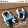 Galv私達タイプ可鍛性ワイヤーロープクリップ