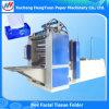 Máquina plegable del embalaje del rectángulo del estilo de la extracción que graba