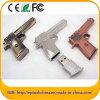 個人化されたロゴのEptの金属銃の形USBのフラッシュ駆動機構
