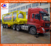 3 Radachse 40ft 20ft ISO Chemical/Fuel Tank Container Trailer