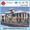 Casa modular prefabricada del chalet del panel de emparedado