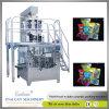 Empaquetadora rotatoria del grano automático con el pesador de Multihead