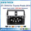Multimédia de véhicule pour Toyota Prado 2014-2016 avec l'acoustique par radio de DVD GPS