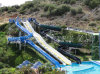 Waterparkの組合せ水スライド装置