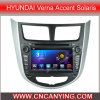 ヒュンダイVerna Accent Solaris (AD-7202)のためのA9 CPUを搭載するPure Android 4.4 Car DVD Playerのための車DVD Player Capacitive Touch Screen GPS Bluetooth