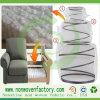 Tela 100% de tapicería no tejida del polipropileno de Fujian