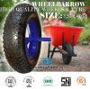 Резиновый пробка 4.00-8 покрышки колеса тачки Carretilla Neumatico колеса
