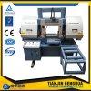 La lámina múltiple vio la máquina para la máquina horizontal de la venda del metal de madera del corte