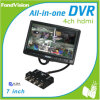 CCTV DVR Combo (FV07D04AT) di 7inch Surveillence Products