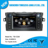 2 DIN Car Audio para Toyota Auris 2008-2011 com Built-in GPS, Chipset A8, RDS, Bt, 3G/WiFi, 20 Dics Momery (TID-C028)