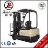 Véhicule-Type chaud trois chariot élévateur électrique de vente de qualité de Jeakue 2t de roues