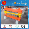 Hebei-doppelte Schicht-Metalldach-Rolle, die Maschinen für Verkauf bildet