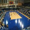 Pavimentazione di collegamento superiore di sport di Suge per la corte di pallavolo
