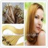 capelli umani diritti serici biondi 100% Remy, micro estensione di 22  dei capelli del ciclo dell'anello