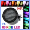 소형 Stage Light, 86LED DJ Stage Laser Light (Stage 빛 451)를 가진 Disco LED