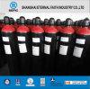 2014 acero sin soldadura de alta presión del cilindro de CO2 (ISO9809 219-40-150)
