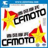 Отсутствие стикера этикеты тела мотоцикла автомобиля PVC MOQ дешевого популярного
