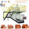 Machine de fabrication de brique complètement automatique d'argile de la meilleure qualité de la Chine