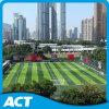 Erba artificiale di prezzi del tappeto erboso sintetico poco costoso dell'erba per calcio