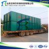 Fábrica de tratamento da água de esgoto para o recurso