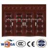 Porte en acier extérieure de garantie en métal de Doorleaf DIY Winga de jumeaux (W-SD-08)