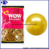 Ballon d'impression en latex personnalisé en or avec logo
