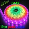 DMX LED 줄무늬 LED 지구 SMD 5050 방수 IP68 LED DMX 화소 지구 RGB