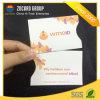 Luva plástica Eco-Friendly do cartão do suporte de cartão do PVC para a segurança