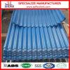 Hoja curvada cubierta color del material para techos del metal