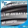 schlauch-Öl-Schlauch des flexiblen Hochdruckschlauch-2sn/R2at hydraulischer Gummi