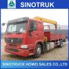 Gebruikte 6X4 Op zwaar werk berekende 5 Ton van de Vrachtwagen van de Kraan