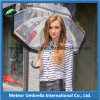 Ombrello libero trasparente esterno della bolla di promozione del PVC Poe della plastica