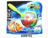 Выдвиженческой пластичной управляемая батареей игрушка рыб (4268102)