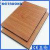 Comitati compositi di alluminio di colore di legno naturale (ACP/ACM) per costruzione ecologica