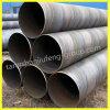 Tubulação de aço soldada espiral API 5L X52 de grande diâmetro para o petróleo e o gás