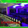 세척 단계 빛 8 채널 알루미늄 LED 동위 3W RGBW