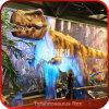 Qualitätsspielplatz-Skulptur-Dinosaurier-Bewegung