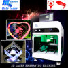 Laser Crystal del laser Machine Fram 3D di Price Used Equipment Portable della fabbrica con Photo Engraving Machine Price