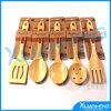 Vaisselle de cuisine Natural Bamboo Spoon 5PCS pour Sets