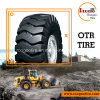 The Road Tyres Loader Tyre (23.5-25) 떨어져 OTR